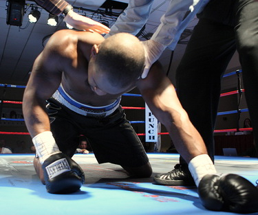 Image result for down but not out boxing