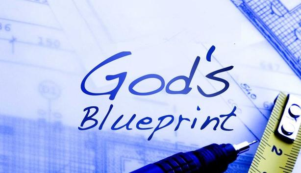 Gods blueprint footsoldiers4christ if youve ever watched a house being built you know that blueprints are essential blueprints contain plans that fully describe the quality and malvernweather Choice Image
