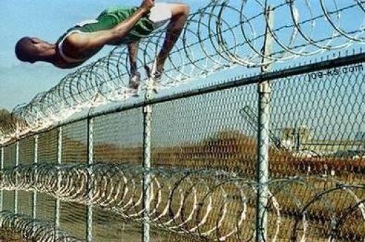 fence-jumping